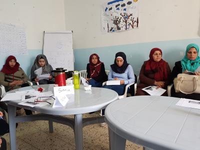 Nr 2 fra venstre er Alaa Eisa. nr 4 er Iman og helt til høyre Ishrin